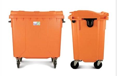 سطل زباله پلاستیکی بزرگ شهری