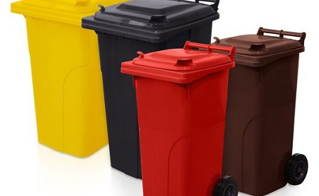 جدیدترین سطل زباله پلاستیکی چرخدار