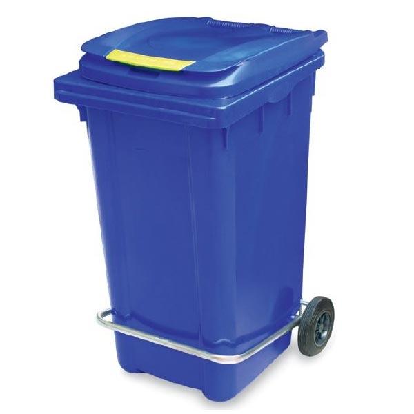 سطل زباله پلاستیکی پدال دار زیبا
